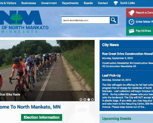 City of North Mankato Home page