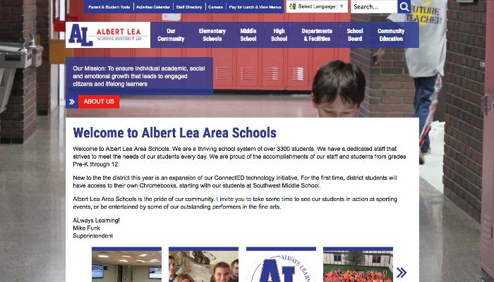 Albert Lea Homepage