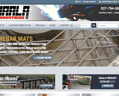Haala Home page